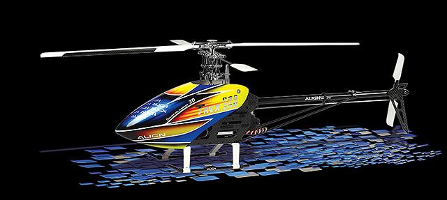 Hélicoptère Radio-commandé T-rex 250 Align - Modelisme - www