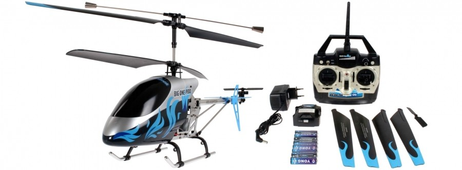 Helicoptere electrique 24064 the big one pro rtf revell for Helicoptere rc electrique exterieur