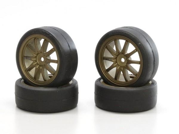 pneus 24mm potenza slick high grip 4 modelisme. Black Bedroom Furniture Sets. Home Design Ideas