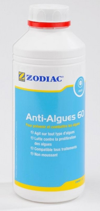 Anti algues 60 liquide 1l modelisme for Anti algues piscine