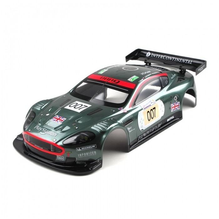 carrosserie aston martin dbr9 peinte 1 10 kyosho modelisme. Black Bedroom Furniture Sets. Home Design Ideas
