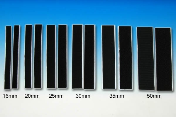 velcro autocollant noir 25mm 20cm modelisme www. Black Bedroom Furniture Sets. Home Design Ideas