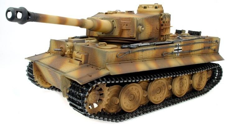 char d 39 assault rc 1 16 geman tiger camo full metal bruit. Black Bedroom Furniture Sets. Home Design Ideas