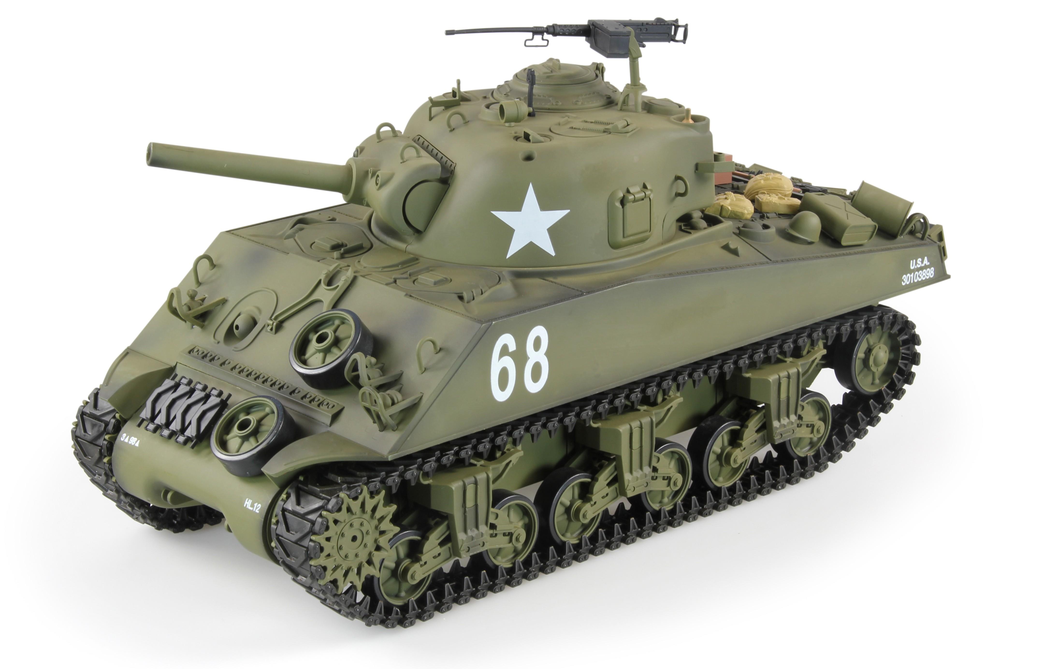 char d 39 assault rc 1 16 m4a3 sherman complet bruit et