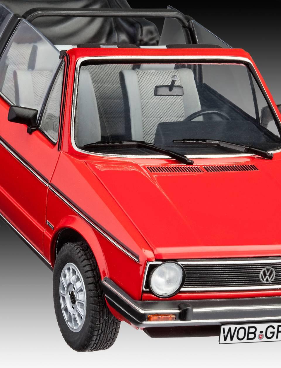vw golf 1 cabriolet revell modelisme. Black Bedroom Furniture Sets. Home Design Ideas