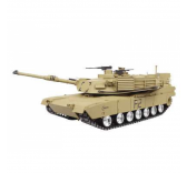 Char RC U.S.M1A2 ABRAMS 1/16 METAL PARTS / SONS ET FUMEE QC Edition - AMW-23058