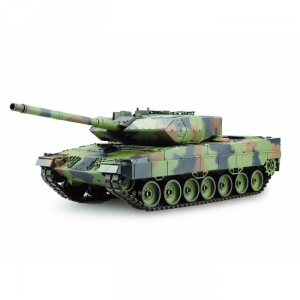 Char RC Leopard 2A6 1/16 SONS ET FUMEE QC Edition - AMW-23077