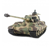 Char RC King Tiger 1/16 SONS ET FUMEE QC Edition - AMW-23072