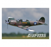 Avion 980mm P-39 (high speed) kit PNP - FMS080-TBC