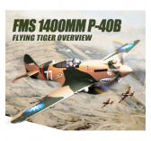 FMS 1400MM P-40B Flying Tiger PNP - FMS081
