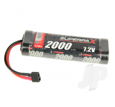 SuperpaX 7.2V 6-Cell 2000mAh NiMH, Stick, HCT