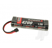 SuperpaX 7.2V 6-Cell 4200mAh NiMH, Stick, HCT