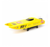 Batteau RC Josway US1 V2 4S  Alpha Flame Yellow Scheme  brushless  - 26051