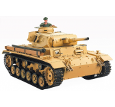 CHAR D ASSAULT RC 1/16 TAUCHPANZER III AUSF. H COMPLET (BRUIT ET FUMEE) 3849-1 - JP-4400870