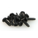 S030 ROUND HEAD SELF TAPPING SCREW 3x10 (12)