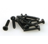 S085 ROUND HEAD SELF TAPPING SCREW 3x15 (12)