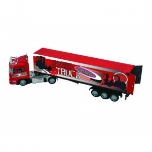 Jeux jouets - Camion Container Rouge RTR - Jamara - 400035
