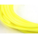 Durite silicone jaune fluorescent 2mm au metre lineaire