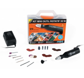 Kit perceuse rotatif 30W PGMini - M.9150