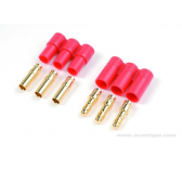 Connecteur Or plastique 3.5mm Pin - GF-1002-001