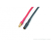 Connecteur Or 3.5mm M+F Silicone - GF-1051-001