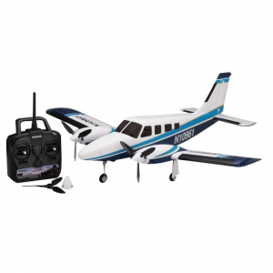 Modelisme avion - Airium Piper PA34 VE29 Twin Ready Set Bleu - Kyosho - 10961RS-BL