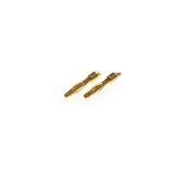 Connecteur : prise 2.0mm Male plaque or (10pcs)