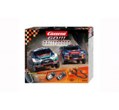 Coffret circuit carrera Rally Cross a l echelle 1/43 - CA62245