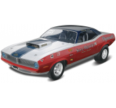1/25 Sox & Martin  70 Plymouth HEMI® Cuda Plastic Model Kit - 85-4196