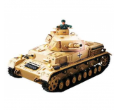 Char RC Panzer IV F1 Africacorps Son Fumee