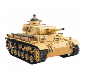 Char RC Tauchpanzer III Son Fumee 2.4GHZ