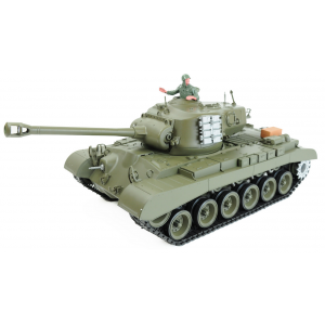 Char RC US M26 Pershing Son Fumee 2.4Ghz AMEWI QC Edition - 23061