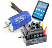 Combo Brushless 1/8 moteur 2150KV / ESC 150A Etronix