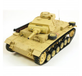 Char RC German Tauch Panzer III 1/16 RTR 2.4Ghz  - 4400705