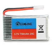 Eachine 3.7V 750mah 25C Lipo Battery for Eachine E30 E30W Syma