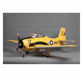 Warbird RC FMS T-28 1400MM V4 PNP Jaune  - FMS083Y