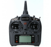 RC Emetteur DX9 Mode 2 Black  - SPMR9910EU