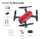 DJI SPARK Drone  Magma ROUGE  Fly More Combo