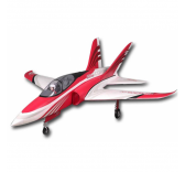 Jet RC FMS Super Scorpion 90mm EDF Red PNP - FMS097RE-FS0232R
