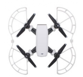 Protections d helices + rehausseurs atterrissage blancs Spark DJI
