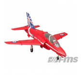 Jet RC FMS Hawk Arrows Red EDF 80mm PNP BAE  - FS0223R/FMS099