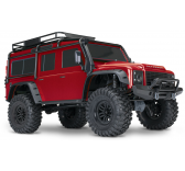 Traxxas TRX4 SCALE & TRAIL CRAWLER RTR ROUGE