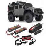 Traxxas TRX4 GRIS RTR PACK Complet