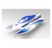 Bateau RC de Course Claymore 50 Brushless RTS - V792-3-BL