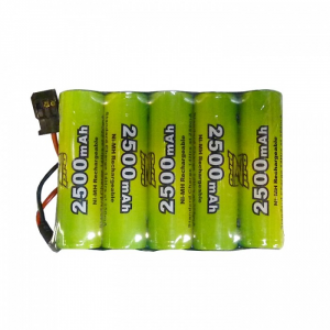 Modelisme batteries - Pack RX 6.0V 2500Mah JR - 5255S