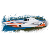 Bateau RC Aquacraft Mini Wildcat Orange - AQUB47NN
