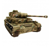 CHAR RC Panzer IV Camo Pro-Edition 1/16 BB 2.4GHZ - 1110385900