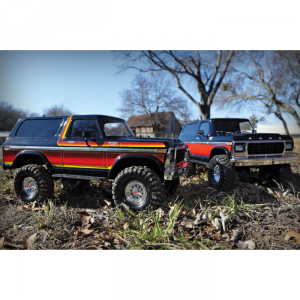 Voiture RC Ford Bronco Ranger XLT TRX-4 1/10 Traxxas RTR 4WD - 82046-4