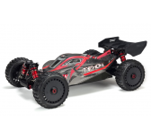 Arrma 1/8 TYPHON 6S BLX 4WD Brushless Buggy RTR, Rouge/Gris