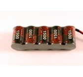 pack reception 6volts EP 1500Mah Futaba - 5159S